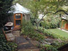 """Backyard Yurt - From """"Yurts: Living In The Round"""""""