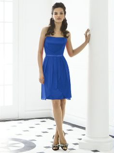 After Six Bridesmaid Dress 6650 http://www.dessy.com/dresses/bridesmaid/6650/?color=sapphire&colorid=77#.UlyVlVA3s_4