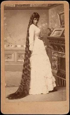 Blackfoot Indian woman with amazing hair, stunning....