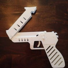 3D Printable Rubber Band Gun  by william