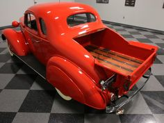 Learn more about Rare Factory Coupe Pick-Up: 1936 Chevrolet Standard on Bring a Trailer, the home of the best vintage and classic cars online. Antique Trucks, Vintage Trucks, Classic Hot Rod, Classic Cars, Rat Rods, Custom Trucks, Custom Cars, Cool Trucks, Cool Cars