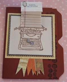 Tap, Tap, Tap | Denise Foor Studio PA   Stampin' Up!  Card by Elke Horton