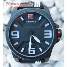 Naviforce 3D férfi karóra dátum mutatóval fehér CK589422 Accessories, Jewelry Accessories
