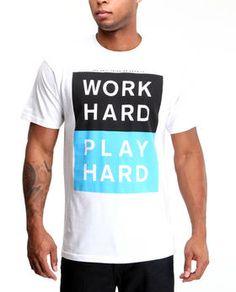 Work Hard Play Hard tee