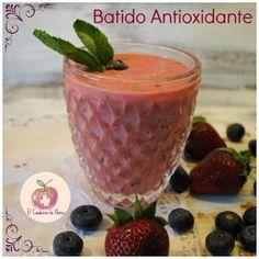 Batido antioxidante, desayuno sano que evita picar entre horas