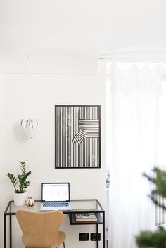 design workspace blossom lamp and artel poster