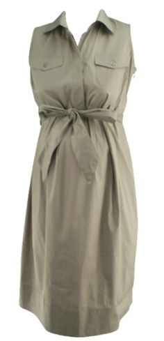 Beige A Pea in the Pod Maternity Tailored Casual Maternity Dress (Like New - Size Small) - Motherhood Closet - Maternity Consignment Casual Maternity Dress, Designer Maternity Clothes, Beige, Shirt Dress, Coat, Jackets, Shirts, Fashion, Down Jackets