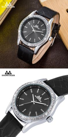 2016 Sports Watches Men Luxury Brand Male Watch Diamonds Analog Watches for Men Leather  Men's Quartz Military Wristwatches