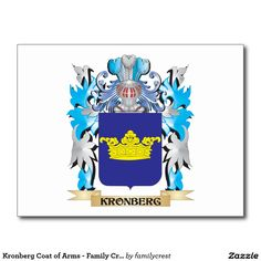 Kronberg Coat of Arms - Family Crest Postcard