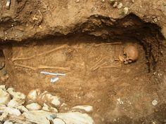 Resti umani del 2 secolo a piana