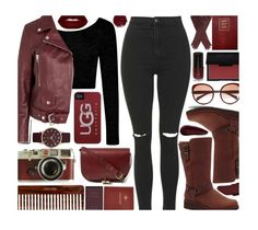 """""""Boot Remix with UGG : Contest Entry"""" by xgracieeee ❤ liked on Polyvore featuring UGG Australia, Topshop, Boohoo, Acne Studios, Sloane Stationery, Lime Crime, Case-Mate, Marc by Marc Jacobs, A.P.C. and Surratt"""