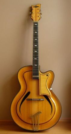 Musima Record archtop Guitar