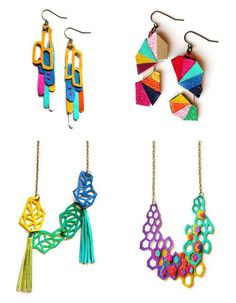 Geometric Wow series: Jewelry