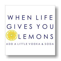 Life & Lemons Gallery Print