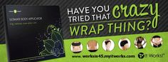 www.worksin45.myitworks.com Get tight in 45 minutes with the ultimate body applicator wraps. Lose weight with their weight loss products, look great with facial products or get healthy with it works vitamins! Products that REALLY work! www.worksin45.myitworks.com