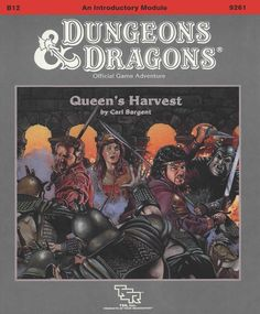 B12 Queen's Harvest (Basic) | Book cover and interior art for Dungeons and Dragons Basic and Expert Editions - Dungeons & Dragons, D&D, DND, Basic, Expert, 1st Edition, 1st Ed., 1.0, 1E, OSRIC, OSR, fantasy, Roleplaying Game, Role Playing Game, RPG, Wizards of the Coast, WotC, TSR Inc. | Create your own roleplaying game books w/ RPG Bard: www.rpgbard.com | Not Trusty Sword art: click artwork for source