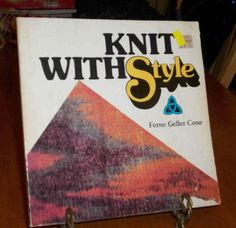 Vintage Knit With Style by Ferne Geller Cone