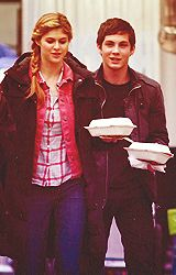 Alexandra Daddario and Logan Lerman!!!