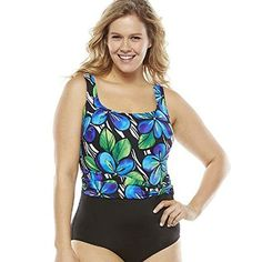 Great Lengths Long Torso Tummy Slimmer Floral One-Piece Swimsuit - Womens Size 16 Great Lengths http://www.amazon.com/dp/B00UXIM4VC/ref=cm_sw_r_pi_dp_09Fevb0W2HG9T