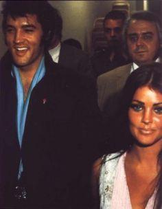 Elvis and Priscilla in Vegas 1969
