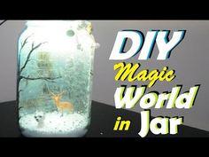 Decoupage on Jar +Upsidedown Decoupage | A Magical World in a Jar - YouTube