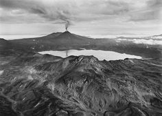 Karimsky erupted out of its lake in 1996. Photo: Sebastião Salgado