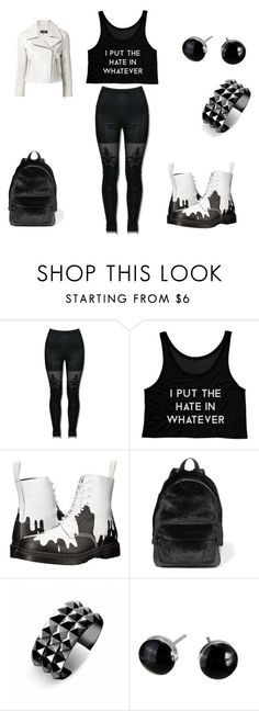 """""""Punk"""" by simply-07 on Polyvore featuring MACBETH, Dr. Martens, Alexander Wang, Waterford, Yigal Azrouël and Punk"""