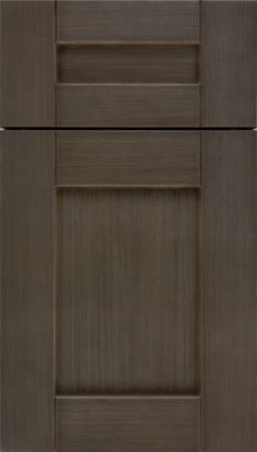 Pearson cabinet doors, which are Shaker-inspired with its v-groove cabinet joints, is very adaptable; a go-to resource for a surprising variety of kitchen designs from Kitchen Craft Cabinetry.
