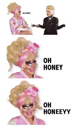 """Oh Honeeeyyy!"", Trixie and Katya, UNHhhh, RPDR, youtube"
