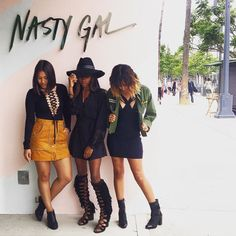 Come get styled by our muses at #NastyGalSantaMonica