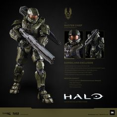 Wow, this looks pretty neat! Master Chief Armor, Halo Master Chief, Halo 3, Halo Game, John 117, Halo Cosplay, Halo Armor, Ashley Wood, Red Vs Blue