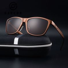 3f8122ebee BARCUR Brand Unisex Retro Aluminum+TR90 Sunglasses Polarized Lens Vintage  Eyewear Accessories Sun Glasses For