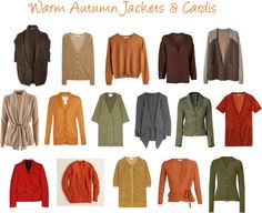 """""""Warm Autumn Jackets & Cardis"""" by jeaninebyers ❤ liked on Polyvore"""