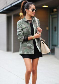 army military camo print fashion