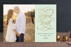Golden Noel by Jill Means at minted.com