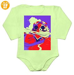 Red And Blue Hope Style Poster Baby Long Sleeve Romper Bodysuit Medium - Baby bodys baby einteiler baby stampler (*Partner-Link)
