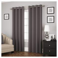 Ridley Thermapanel Curtain Panel Smoke (63), Smoke Gray