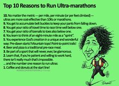 Top 10 reasons to run Ultra-marathons