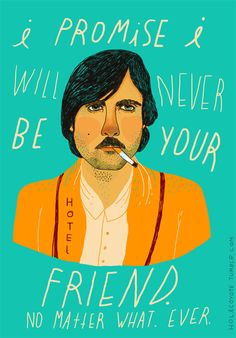 Wes Anderson says
