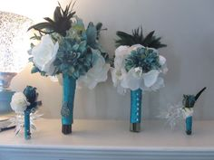 bouquet ideas....but without the feathers