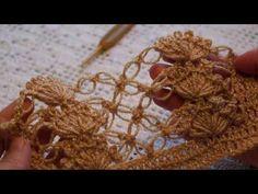 """Шаль"""" бабочки"""" 1часть (learn to crochet shawl crochet) (Шаль #1) - YouTube"""