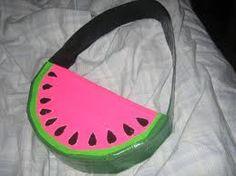 Watermelon Duct Tape handbag