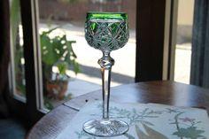 アンティーク バカラ Baccarat ワイングラス グリーン 希少 - Yahoo!オークション