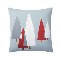 Crewel Work Pillow Cover