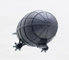 Snap-fit 3D printable airship can also form the base of a Saturn V rocket - Boing Boing