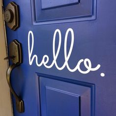 """the """"florkens"""": Our Front Door Makeover"""