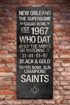 23 Best New Orleans Saints Gift Ideas Images New Orleans Saints