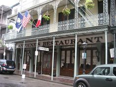 Antoine's is a Louisiana Creole cuisine restaurant located at 713 rue St. Louis in the French Quarter of New Orleans, Louisiana. It has the distinction of being the oldest family run restaurant in the United States, having been established in 1840 by Antoine Alciatore.
