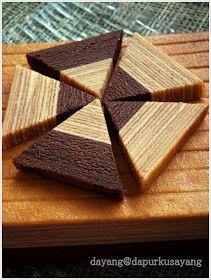 DapurKu SaYang: Kek Lapis Keju Coklat