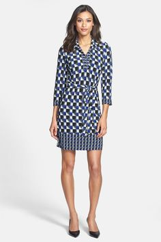 Laundry by Shelli Segal Matte Jersey Shirtdress (Petite) by Laundry on @nordstrom_rack